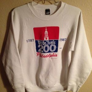 Vintage We The People Philadelphia 200 Sweater